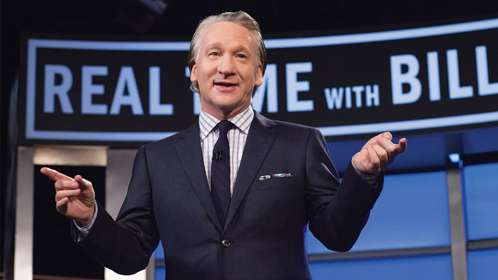 Bill Maher Makes the Case for Joe Biden: He Is 'Mildly Embarrassing' But Not 'Insane' Like Trump