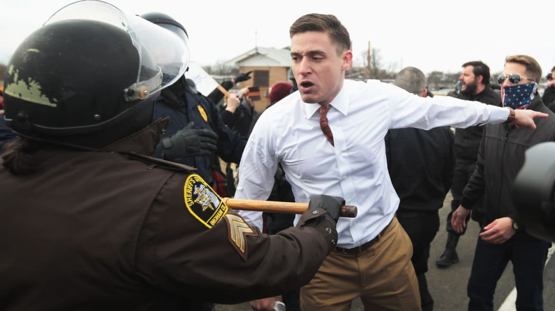 What Do You Do When Neo-Nazis Crash Your Anti-War Rally?