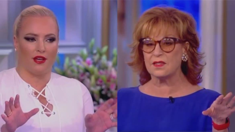 Joy Behar Confronts Meghan McCain: Why Do You Believe Joe Biden But Not Al Franken?