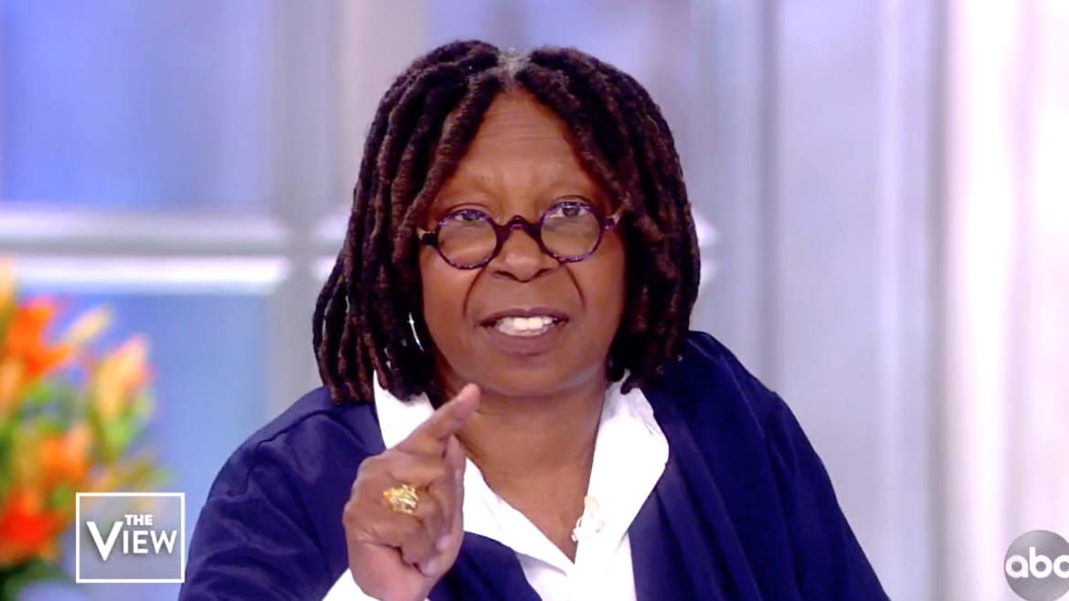 Whoopi Goldberg Goes Off on Debra Messing: 'You Don't Have the Right!'