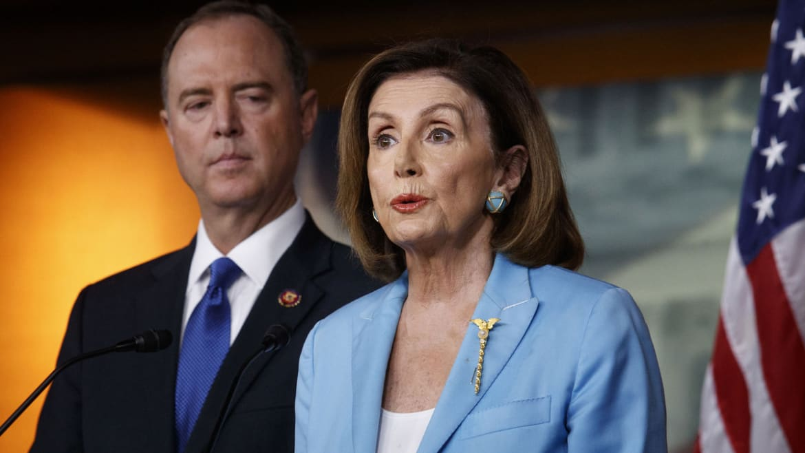 Pelosi, Schiff Prep for GOP Impeachment 'Stunts' and Attempts to Out the Whistleblower