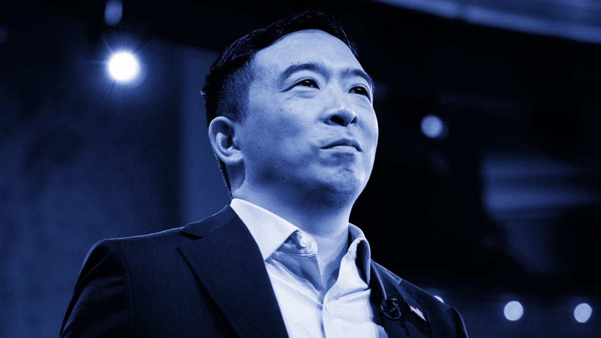 Andrew Yang's Dumb Gimmick Stepped on His Own Important Message