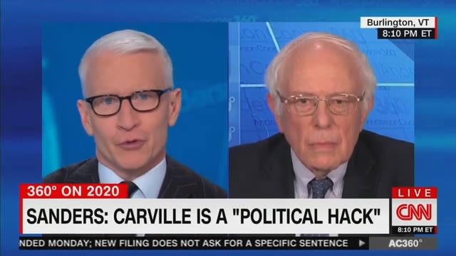 Bernie Sanders Fires Back at James Carville: He's a 'Political Hack'
