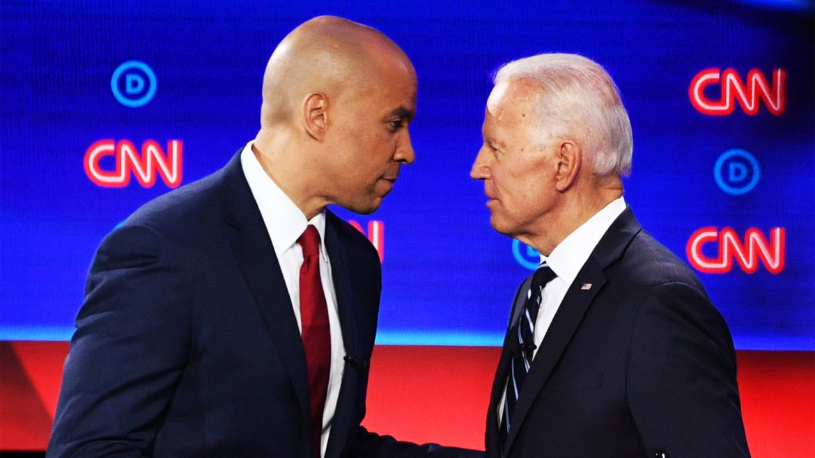 Booker Tells Biden: Your Record on Crime 'Destroyed Lives'
