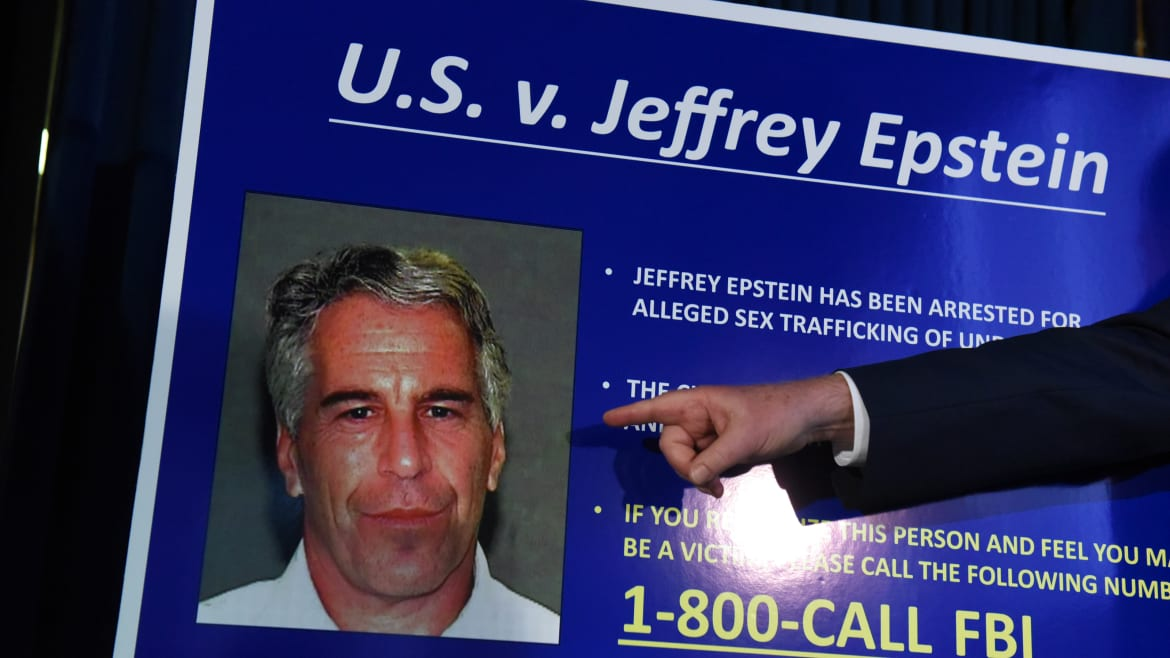 Feds: Epstein Has Been Paying Off Alleged Accomplices
