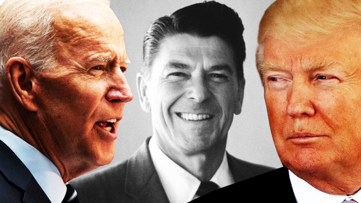 Trump's Raving About Carnage. Biden's Channeling Reagan