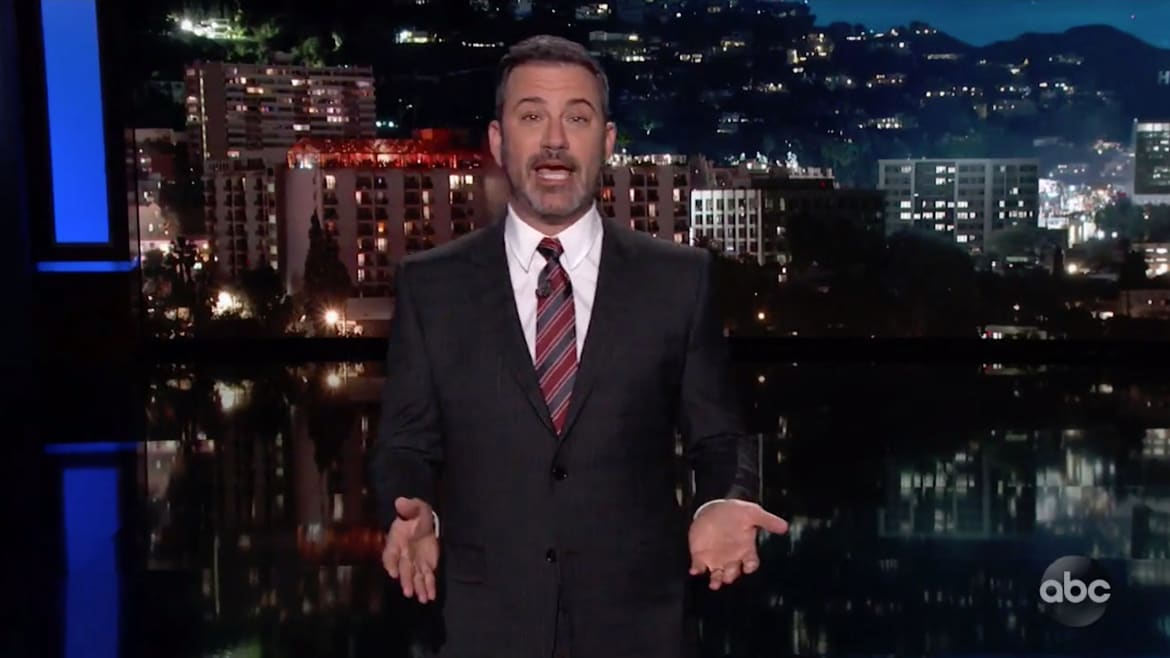 Jimmy Kimmel Dunks on GOP Rep Who Tweeted Fake Obama-Iran Photo