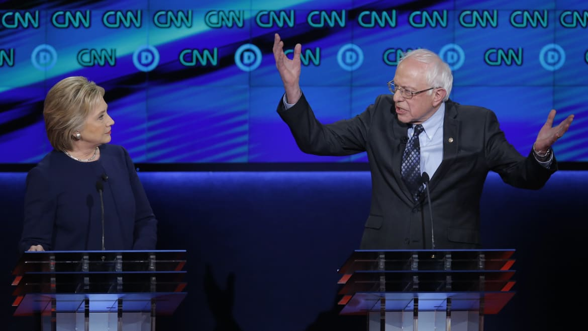 Hillary: Bernie Sanders Is Just a Career Politician and 'Nobody Likes Him'