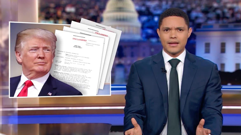 Trevor Noah Mocks 'Idiot' Trump for Releasing 'Damning' Ukraine Transcript