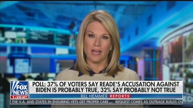 Fox News Anchor: Tara Reade Allegations 'Drive a Stake Into Heart' of #MeToo Movement
