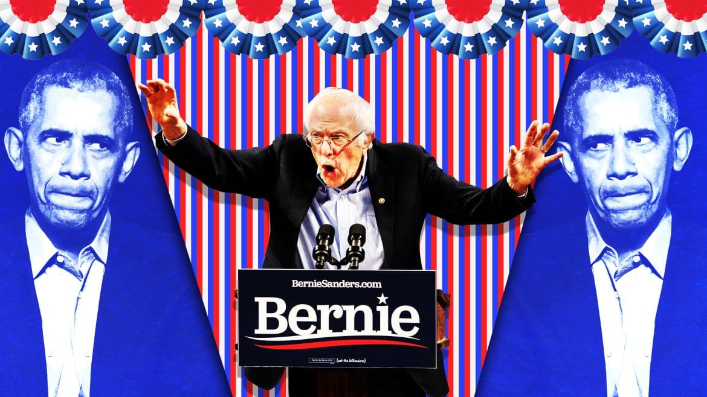 Obamaworld Hates Bernie—and Has No Idea How to Stop Him
