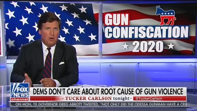 Tucker Carlson: Gun Buybacks Would Lead to 'Civil War'