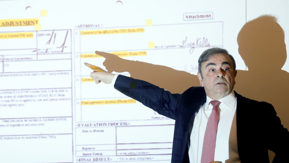 Carlos Ghosn: I Have Documents Showing Nissan, Japan Officials Set Me Up