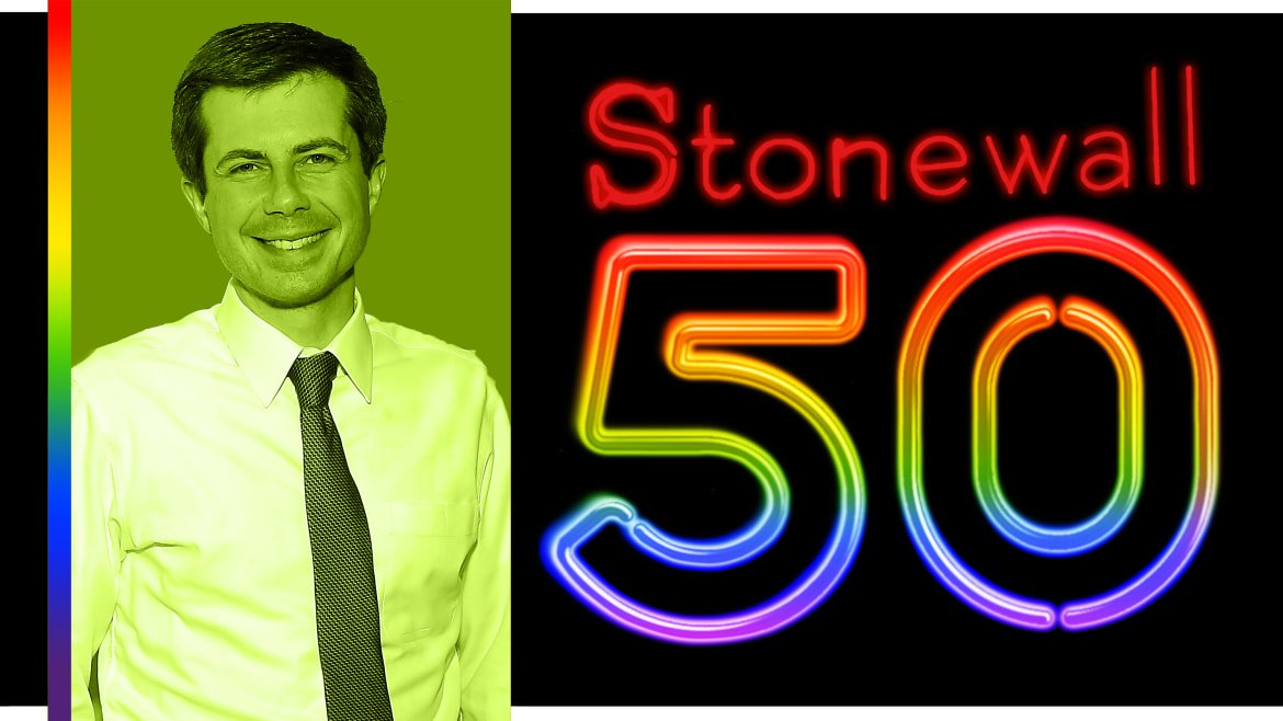 Pete Buttigieg: I'm Proud to Be Standing on the Shoulders of Giants in a Tradition That Goes Back to Stonewall