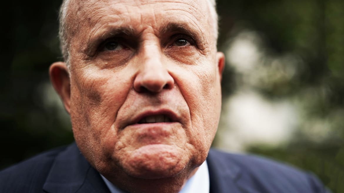 U.S. Ambassador Roped Into Rudy's Quest to Smear Biden