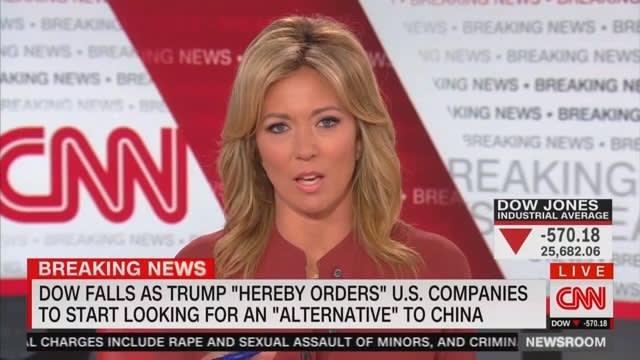 CNNs Brooke Baldwin Blasts Trump for Joking About Plummeting Dow Jones