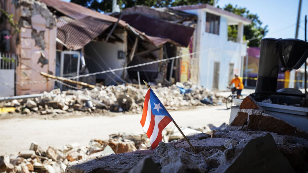 'You're Never Prepared For This': Puerto Rico Reels From Fresh Quake Nightmare