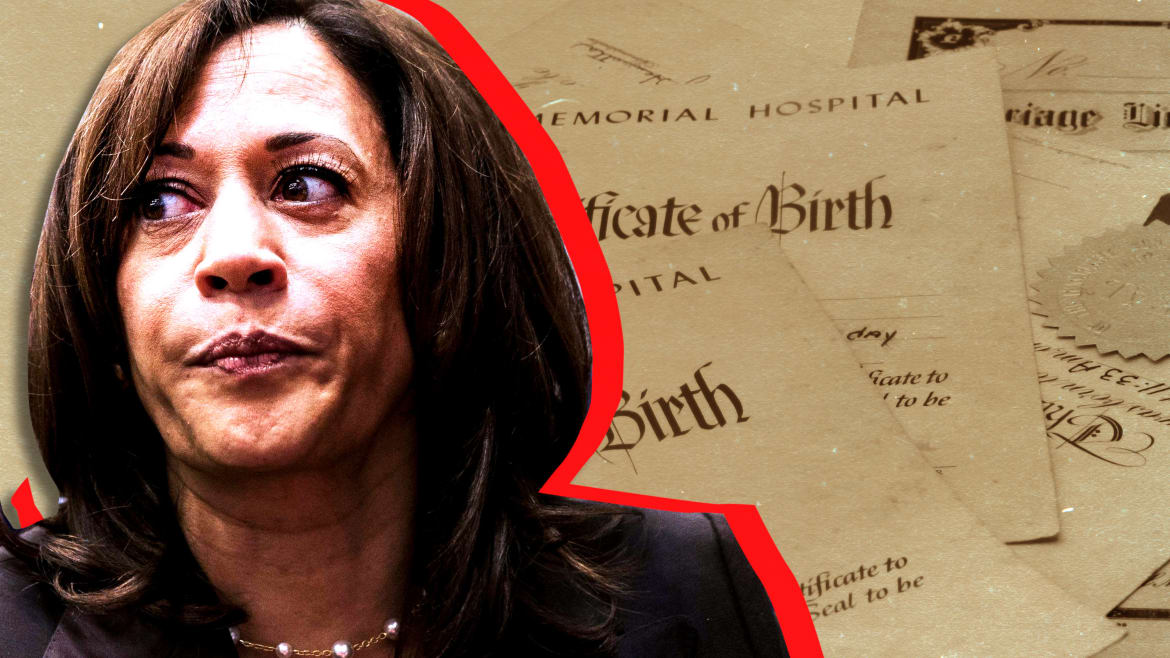 Kamala Harris Is Surging and Birtherism Is Back