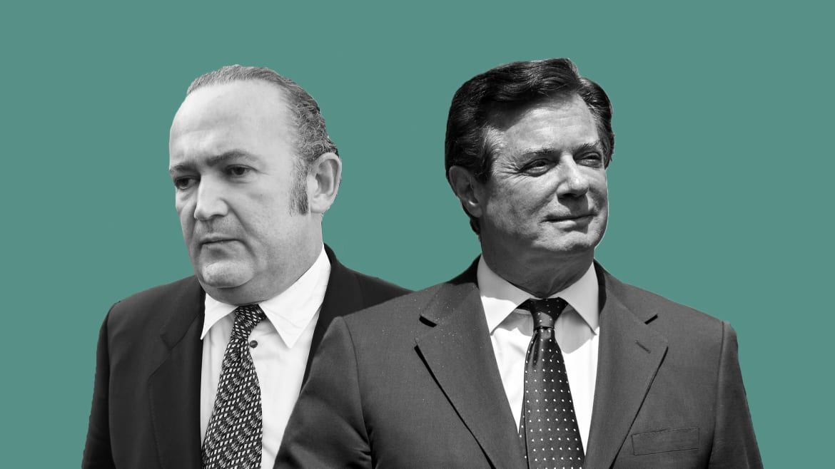 Paul Manafort and Rudy's Indicted Associate Igor Fruman Go Way, Way Back