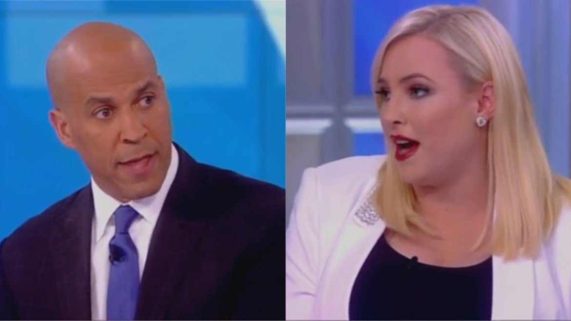 Meghan McCain Spars With Cory Booker Over Civility: Beto Was 'Very Nasty' to Me!