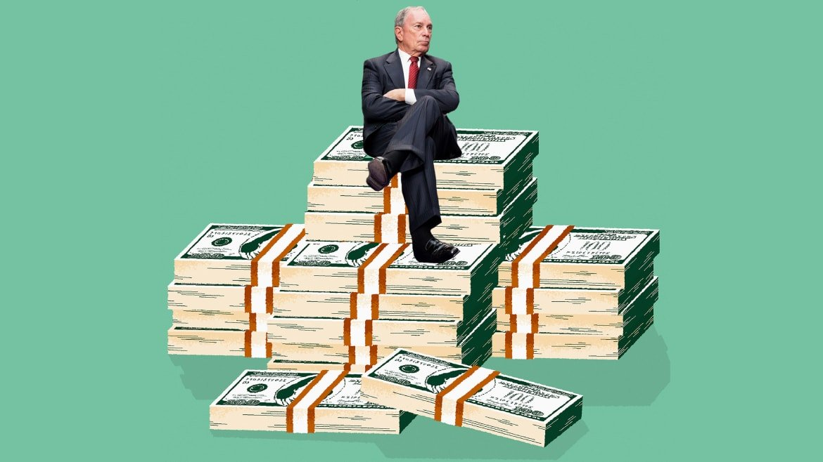 Bloomberg Spent $200 Million and Isn't on Track to Score a Single Delegate