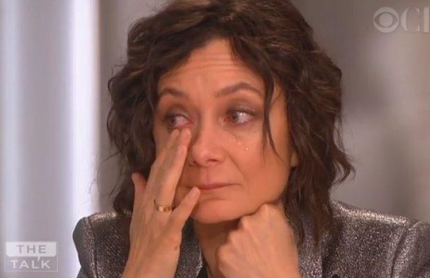 Sara Gilbert Bids Tearful Farewell to 'The Talk' (Video)