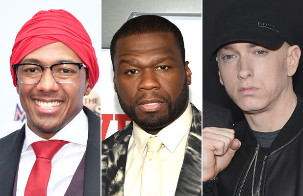 50 Cent Says He Advised Eminem to Not Respond to Nick Cannon: 'You Can't Argue With a Fool'