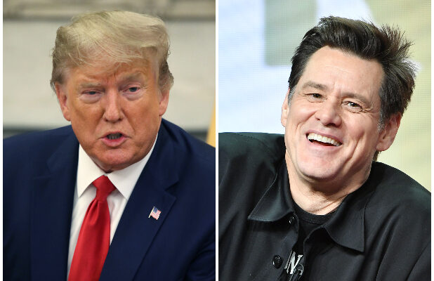Jim Carrey's Latest Post-Impeachment Trump Artwork Has a Stench