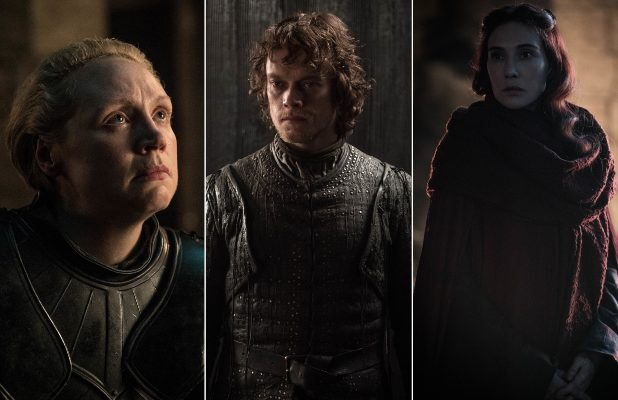 'Game of Thrones' Actors Gwendoline Christie, Alfie Allen and Carice Van Houten Submitted Themselves for Emmys