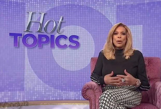 Wendy Williams Says Im Not Perfect After Bizarre On-Air Behavior — Watch