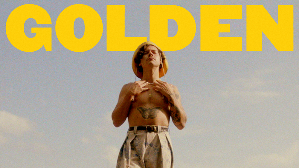 Harry Styles Unveils 'Golden' Music Video