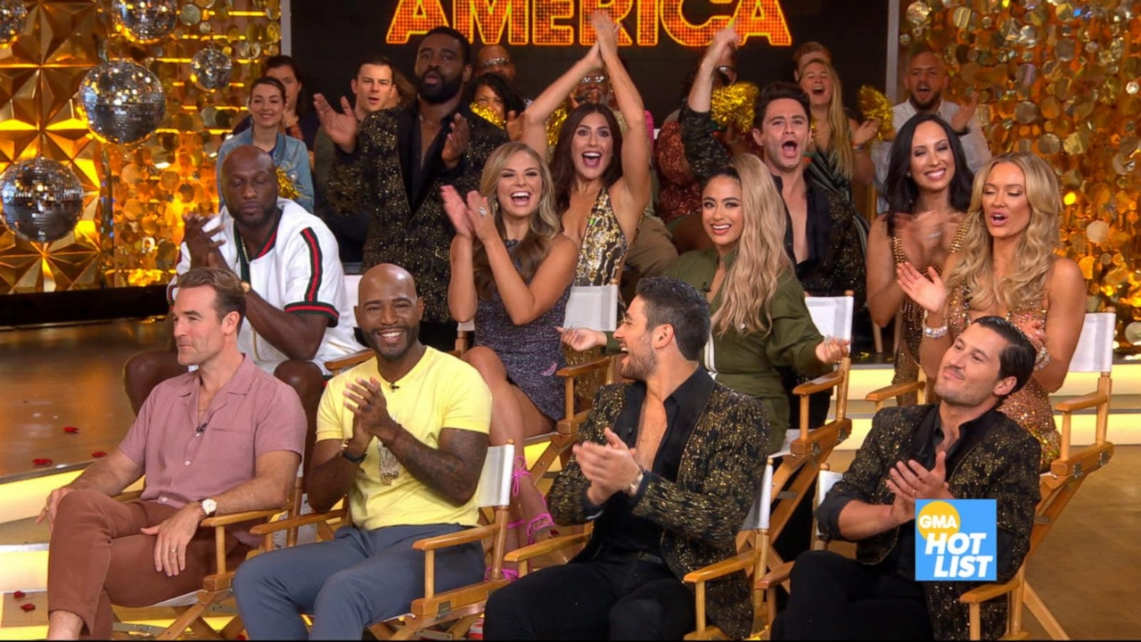 'GMA' Hot List: All-star 'Dancing With the Stars' cast revealed