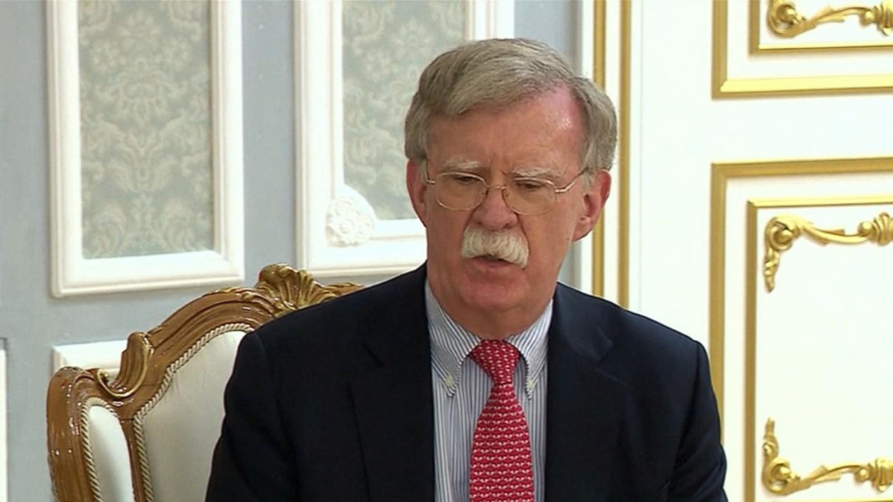 Trump says he's fired National Security Adviser John Bolton