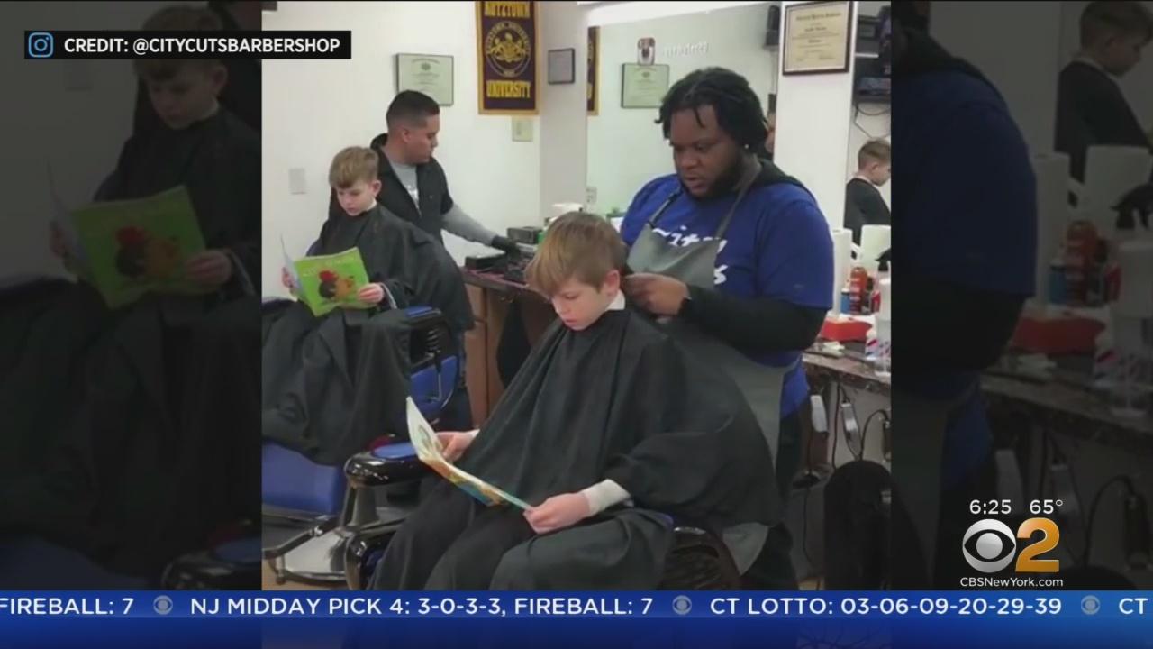 Barbershop Encourages Kids To Read