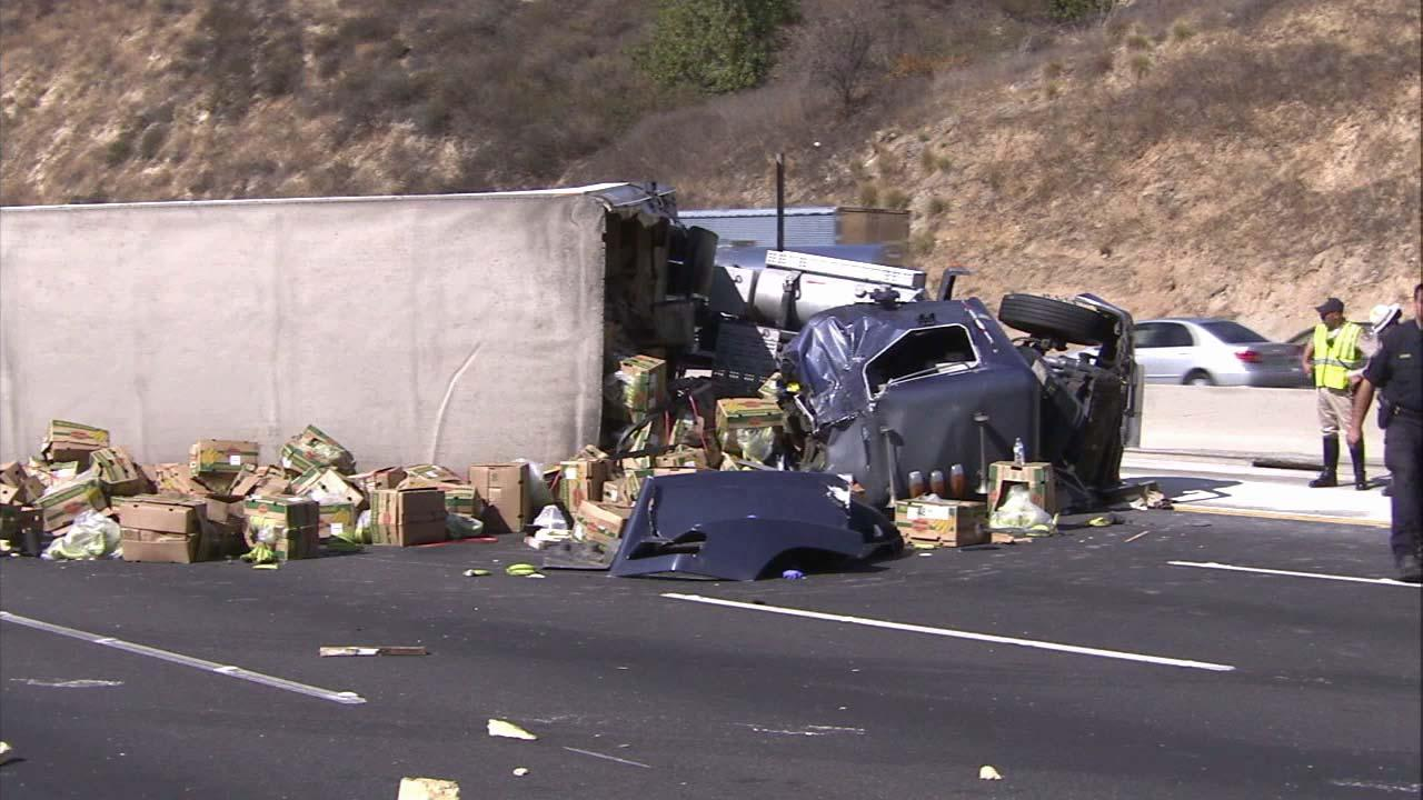 60 East reopens in Diamond Bar after fatal accident