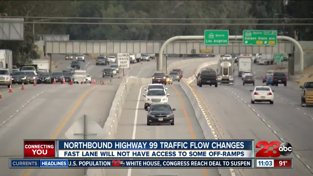 Traffic diversion frustrates motorists on Highway 99