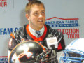 Alex Bars a UA All-American