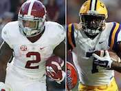 LSU vs. Alabama: Battle of the RBs