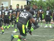 Rivals Camp Series 2015: Top 10 Plays - OL vs. DL