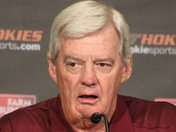 Frank Beamer At Media Day