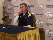 Post Game: Paul Johnson talks UGA loss