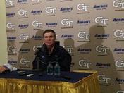 Post Game: Paul Johnson talks UNC win