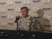 Post Game: Paul Johnson talks Cuse win