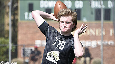 Kurt Rawlings at Rivals QB Challenge
