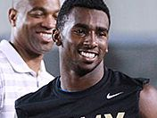 Athlete Yamaha Banks talks Army visit