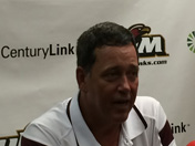 Berry talks Idaho game
