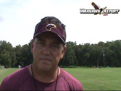 ULM Head Coach Todd Berry on newcomer practice