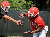 UGA QB-WR highlights
