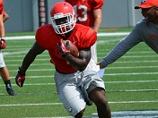 UGA running backs go through their paces