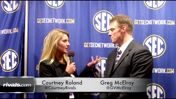 Greg McElroy SEC Media Days 2014